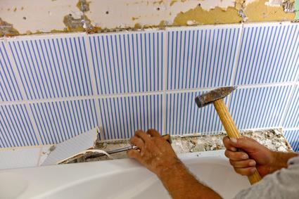 Renovierung und Sanierung Badezimmer durch Handwerker