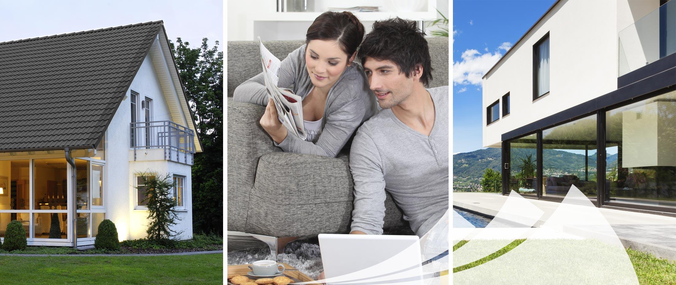 Vermittlung Ihrer Wunsch-Immobilie, Traumhaus.